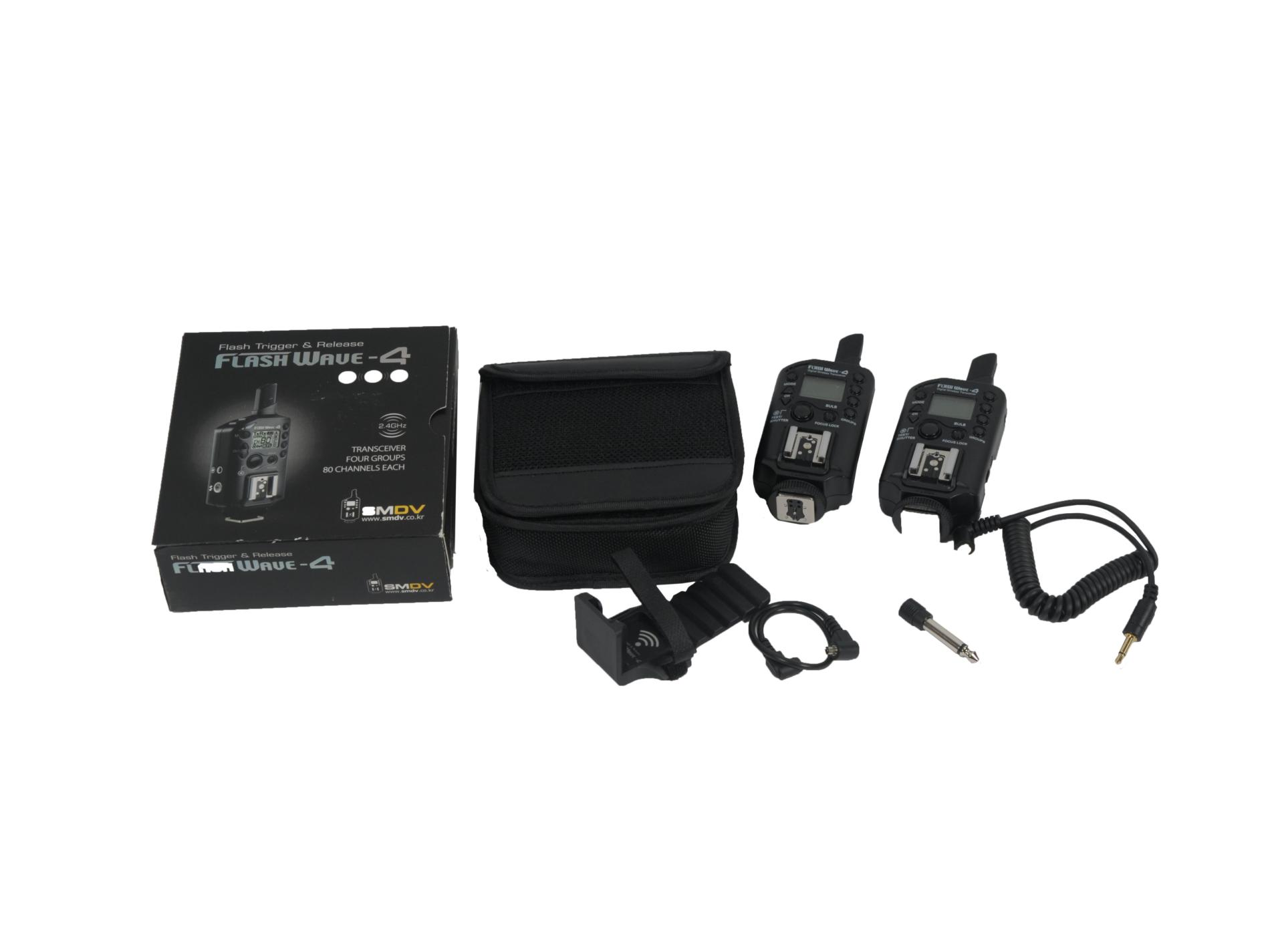 KIT DE 2 FLASH WAVE4
